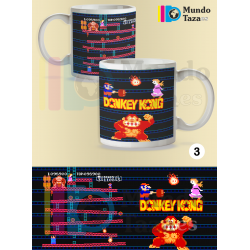 Taza Donkey Kong