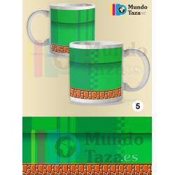 Taza Tubería Super Mario Bros