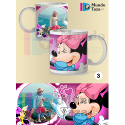 Taza Minnie Mouse Personalizable