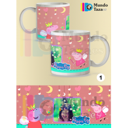 Taza Peppa Pig Pesonalizable
