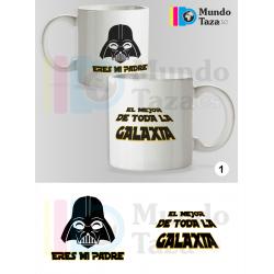 Taza Eres mi Padre - El mejor de la Galaxia