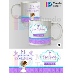 Taza Personalizable con Foto - Mi Primera Comunión Mod. Niña