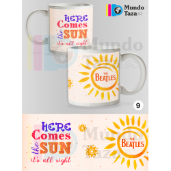 Taza The Beatles - Here comes the Sun
