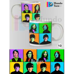 Taza The Beatles - Warhol