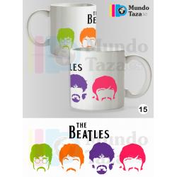 Taza The Beatles - Miembros