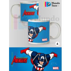 Taza Capitán América - Los Vengadores