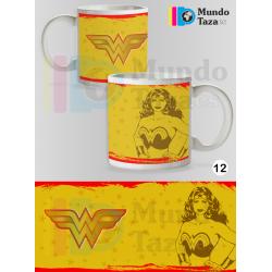 Taza Wonder Woman Colección 1
