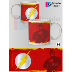 Taza Flash Colección 1