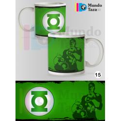Taza Linterna Verde Colección 1