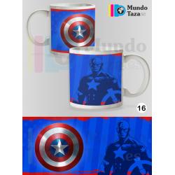 Taza Capitán América Colección 1