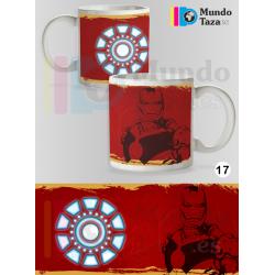 Taza Iron Man Colección 1
