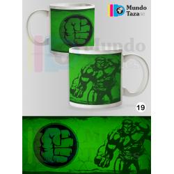 Taza Hulk Colección 1