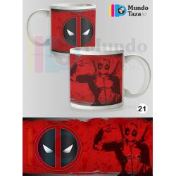 Taza Deadpool Colección 1