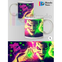 Taza Joker Neón