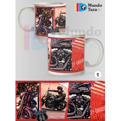 Taza Harley Davidson Motorcycles 1