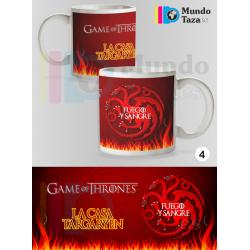Taza Juego de Tronos - La Casa Targaryen