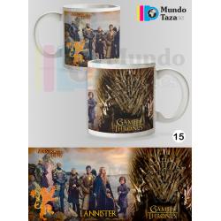 Taza Juego de Tronos - Lannister - Nuestra es la furia