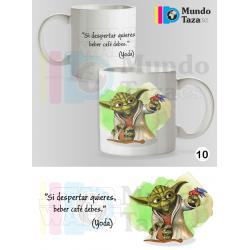 Taza Yoda - Si despertar quieres, beber café debes