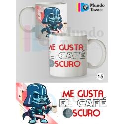 Taza Darth Vader - Me gusta el café oscuro