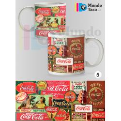 Taza Vintage Coca-Cola