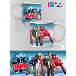 Taza The Big Bang Theory Elenco 1