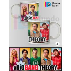Taza The Big Bang Theory Elenco 2