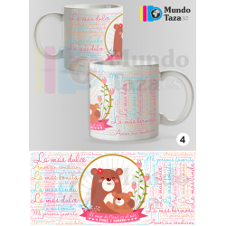 Taza El Amor de Mama es el más Dulce y Sincero