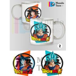 Taza Son Goku - Son Goku Super Saiyan Azul