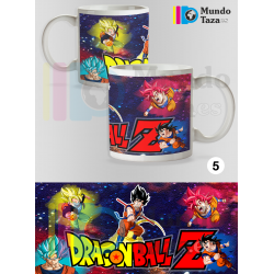 Taza Son Goku Super Saiyans